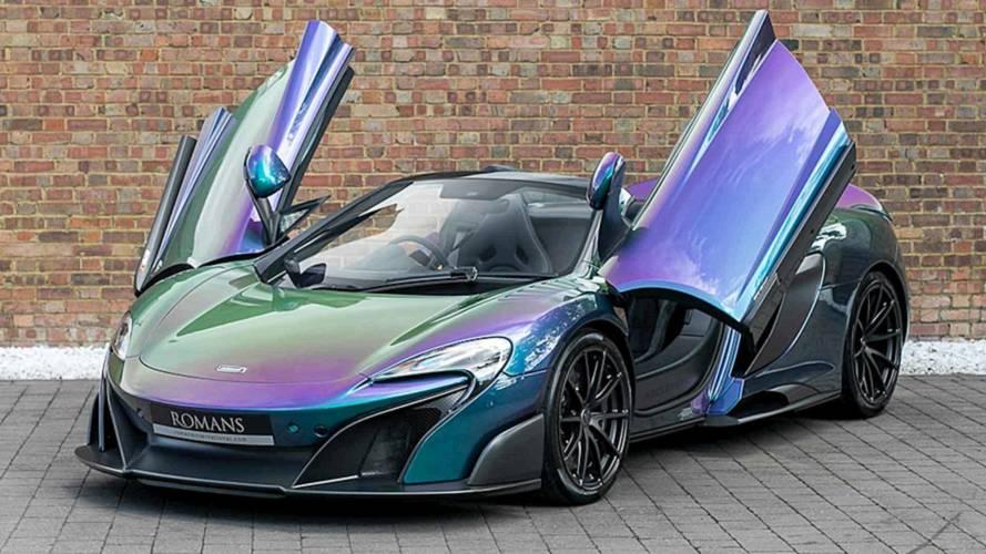 The Paint On This McLaren 675LT Cost More Than A New Civic Type R