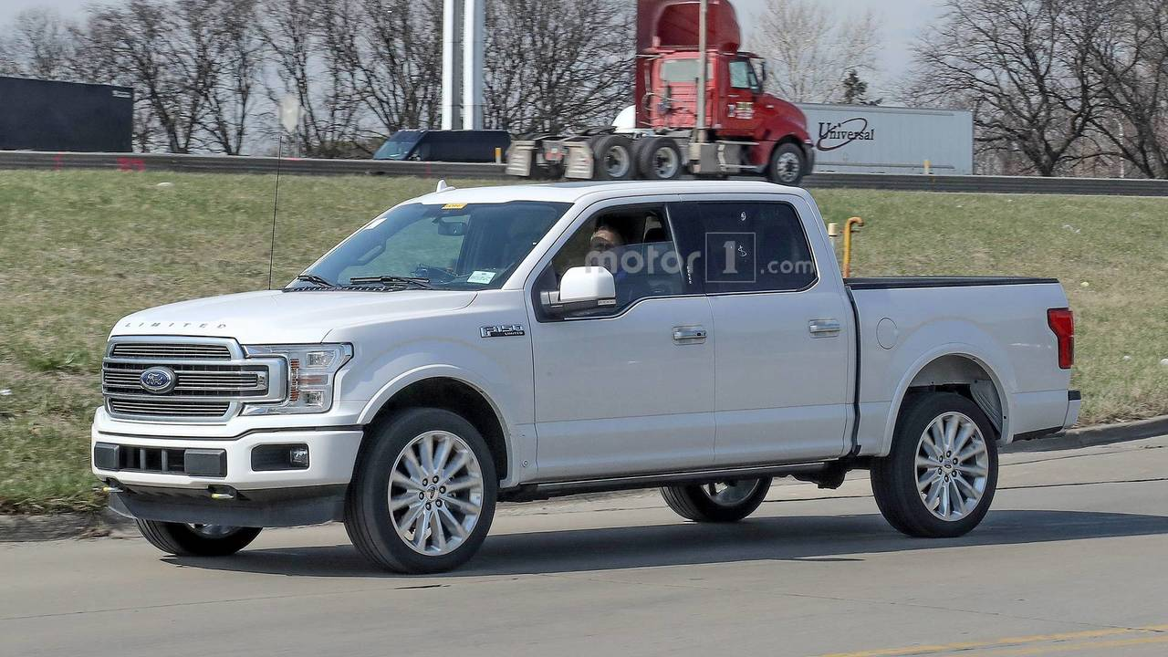 2019 Ford F 150 Limited Spy Photos Photo