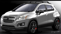 Chevrolet Trax Red Line Series concept