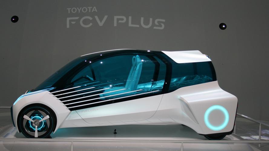 Toyota FCV Plus konsepti, Tokyo
