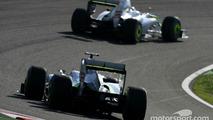 Jenson Button and Rubens Barrichello Brawn GP