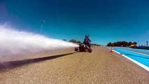 Cohete impulsado por vapor de agua
