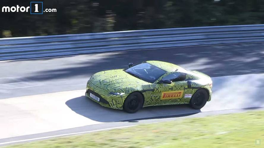2018 Aston Martin Vantage Sounds Delicious In This Spy Video