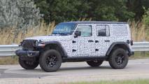 2018 Jeep Wrangler Rubicon Spy Photos