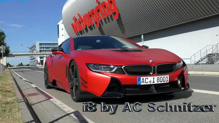 AC Schnitzer-tuned BMW i8 Laps Nürburgring in 8:19