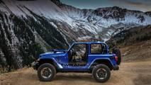 2018 Jeep Wrangler in Ocean Blue Metallic Clear Coat