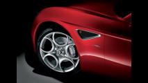 Interni Alfa Romeo 8c