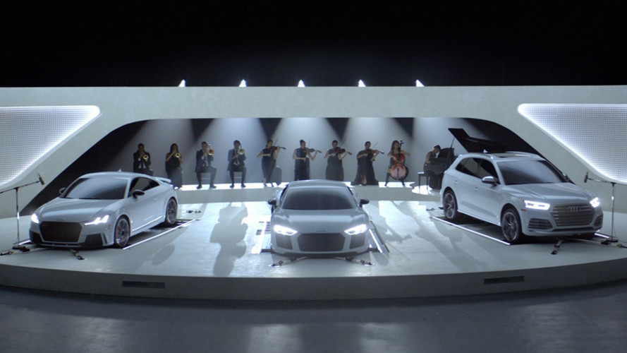 Audi Uses Engines To Recreate Popular TV Theme Songs