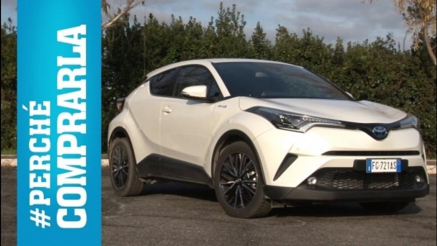 Toyota C-HR, perché comprarla… e perché no [VIDEO]