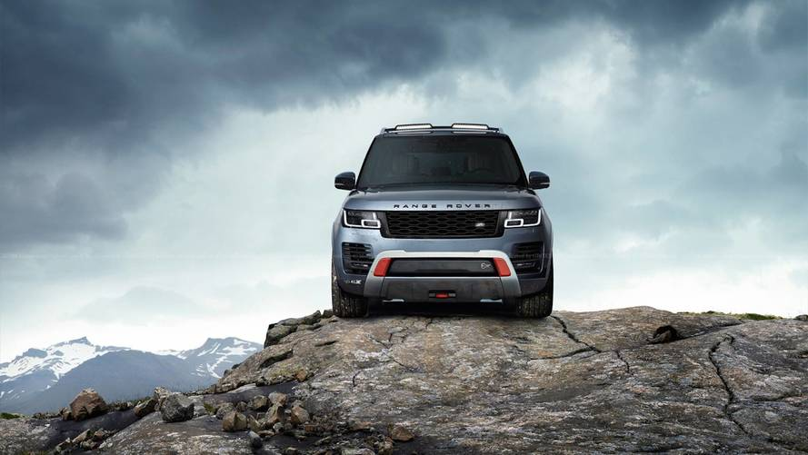 Range Rover SVX Render Ticks All The Right Boxes