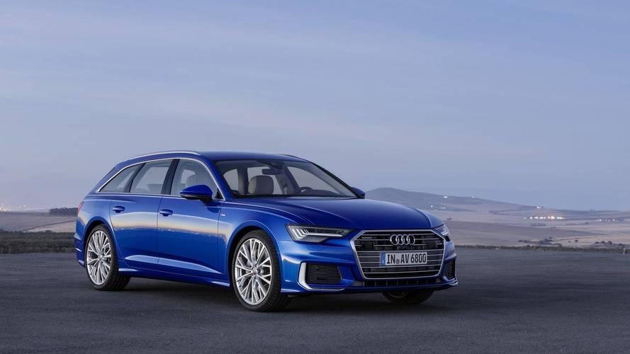 2018 Audi A6 Avant tüm şıklığıyla karşınızda