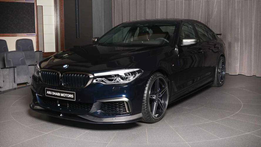 BMW M550i With AC Schnitzer Pack