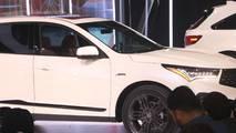 2019 Acura RDX at the 2018 New York Auto Show