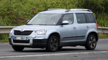 Skoda Yeti facelift spied for the first time