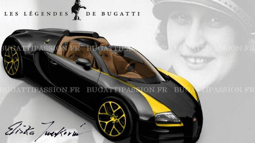Bugatti Veyron Grand Sport Vitesse Elizabeth Junek first allegedly official image surfaces