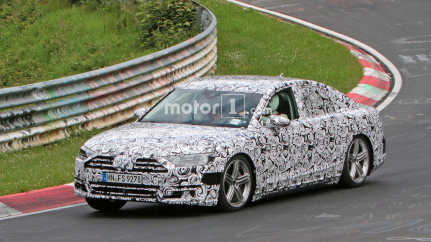 2018 Audi A8 hits the Nürburgring