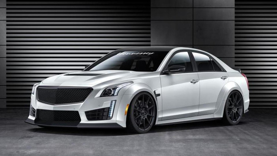 Hennessey's upcoming Cadillac CTS-V aims to be the fastest four-door in the world