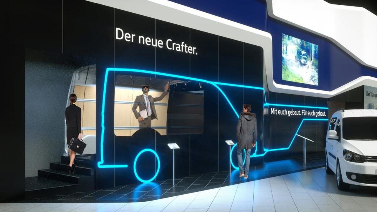 2017 VW Crafter teaser