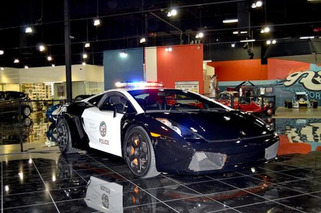 LAPD Added a Lamborghini Gallardo to its Fleet
