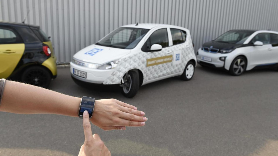 ZF introduces their Smart Urban Vehicle concept