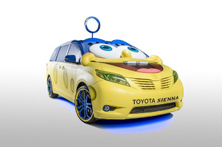 SpongeBob Toyota Sienna is Every Kid's Dream