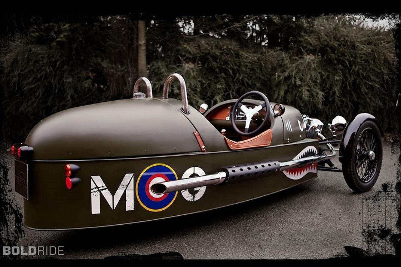 An Electric Morgan Threewheeler Might Actually Happen