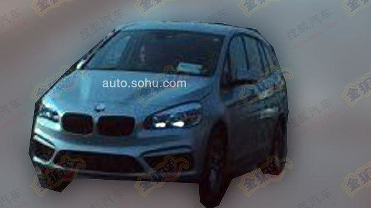 BMW 2-Series Active Tourer 7-seater spy photo / auto.sohu.com