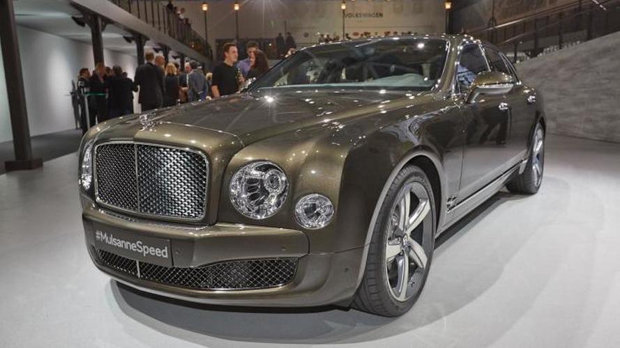 Bentley Mulsanne Speed debuts with 530 bhp