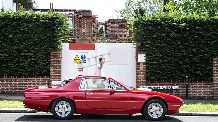 The London Motor Group reveals their Ferrari 412 pickup truck