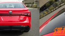 2014 MG5 sedan spy photo