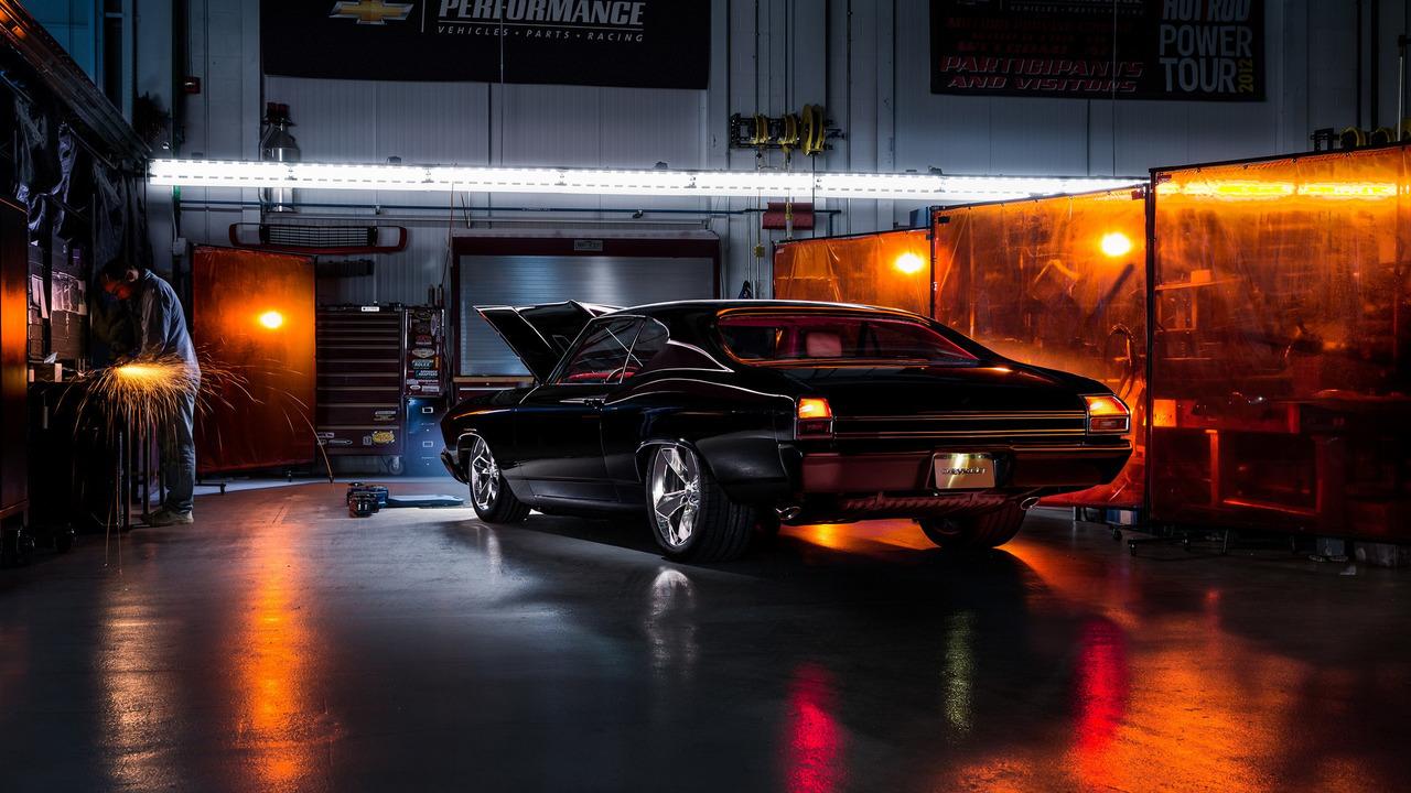 Chevy Chevelle Slammer concept