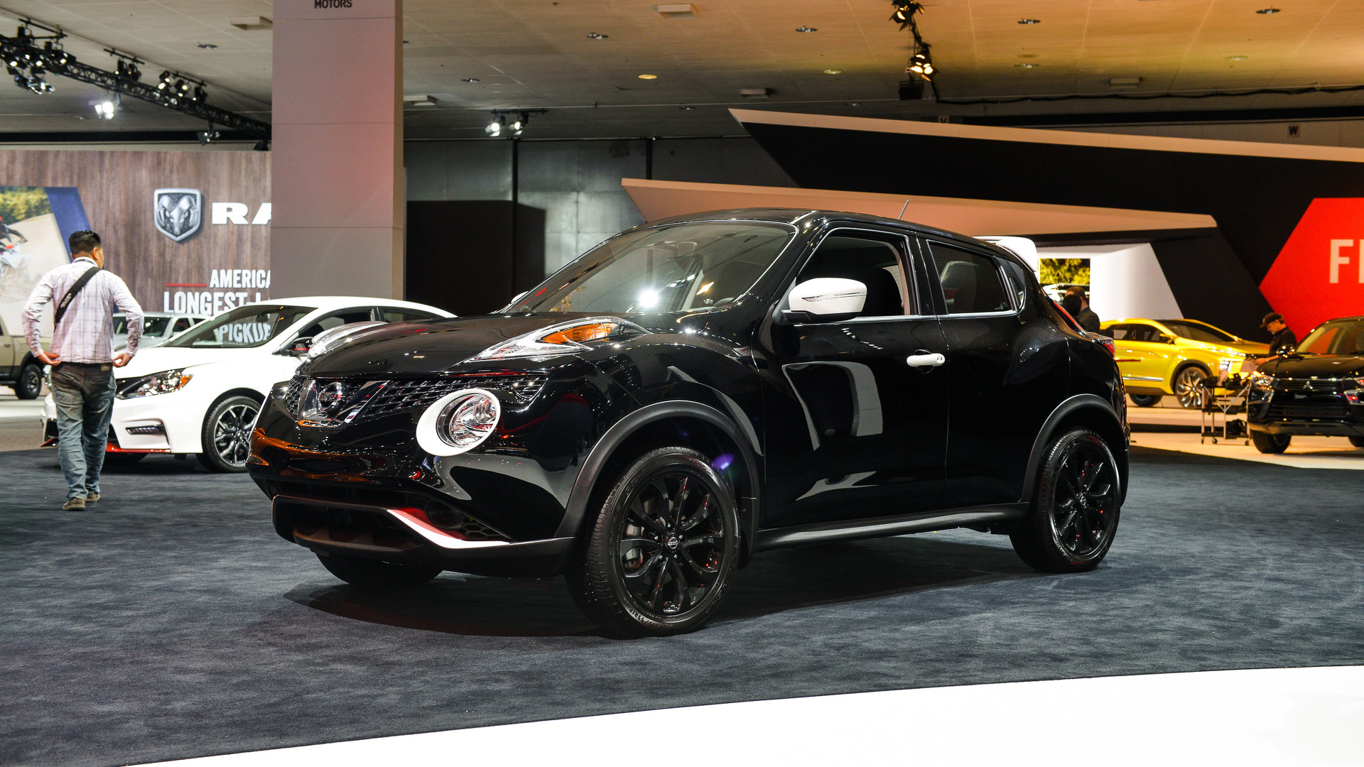 2017 Nissan Juke Black Pearl is a limited-run compact ...
