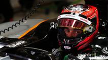 Esteban Ocon, pilote d'essais Sahara Force India F1 VJM08