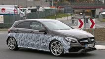 2017 Mercedes-AMG A45 prototipi casus fotoğrafları