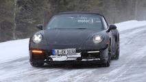 2019 Porsche 911 Cabriolet casus fotoğrafları