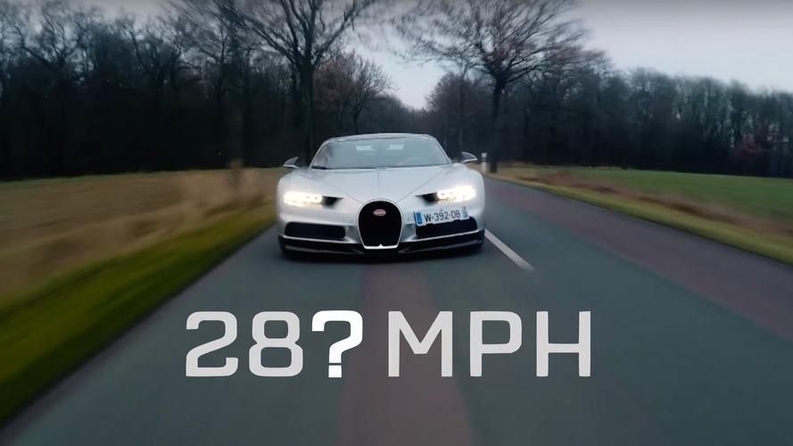 Did The Grand Tour hit 280 mph in a Bugatti Chiron?