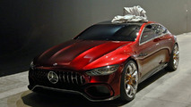 Mercedes-AMG GT Concept Spy Video