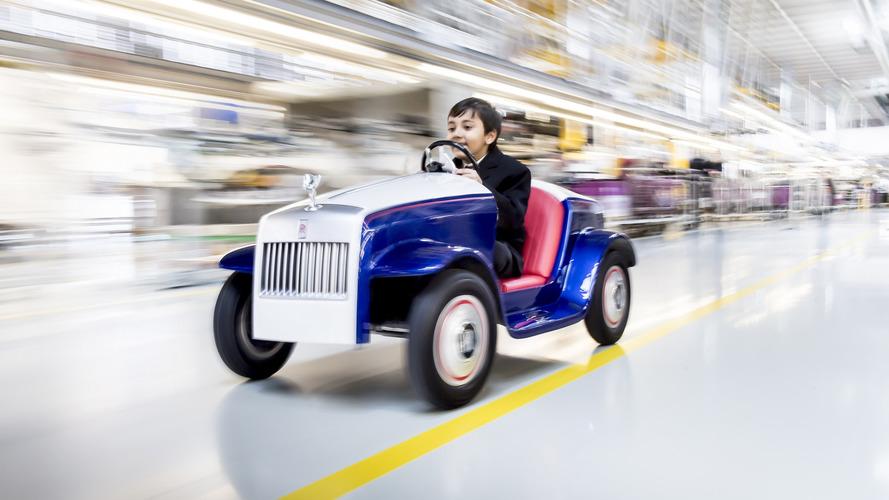 VIDÉO - Une Rolls-Royce conçue pour les enfants malades