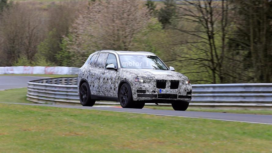 BMW X5 Nurburgring Spy Shots