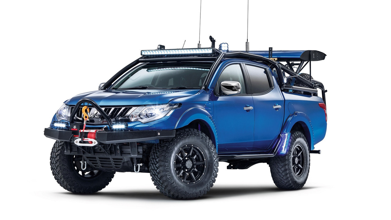 2017 Mitsubishi L200 Desert Warrior one-off