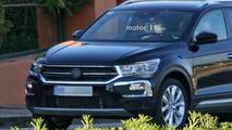 2018 VW T-Roc casus fotoğrafları