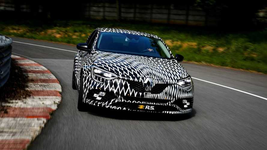 Renault Mégane RS previewed, confirmed with dual-clutch option