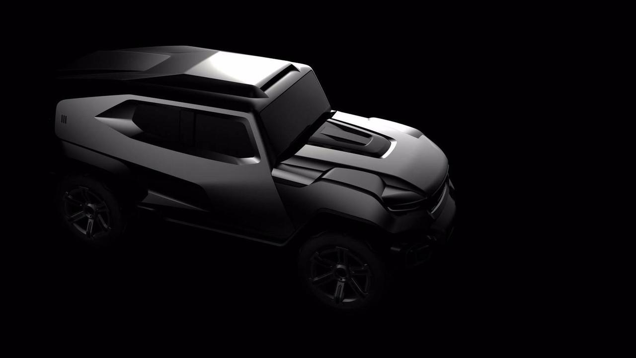 Rezvani SUV teaser
