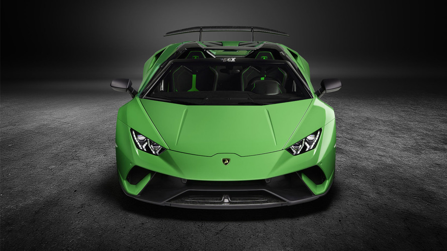 lambo huracan performante spyder render eases the anticipation. Black Bedroom Furniture Sets. Home Design Ideas