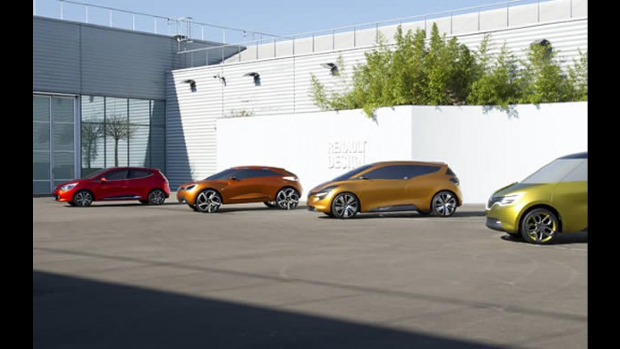 Será este o Novo Renault Clio 2012?