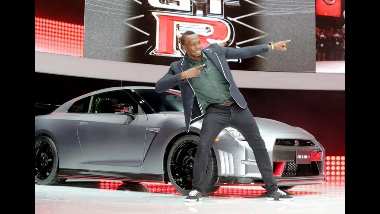 Nissan patrocina desafio Mano a Mano com Usain Bolt no Rio de Janeiro