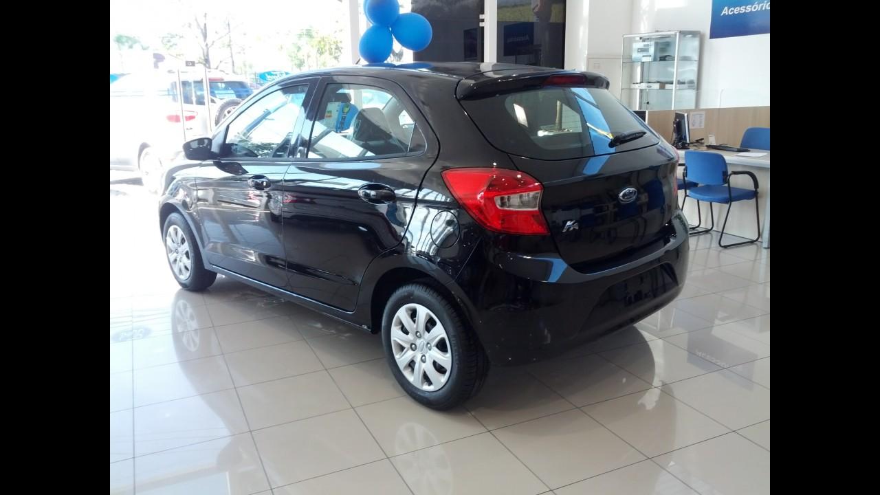Novo Ka chega às lojas mantendo os preços do site da Ford