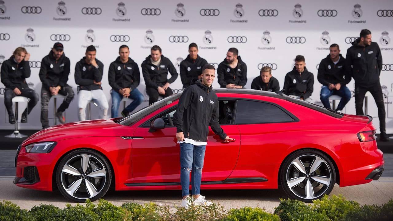 Lucas Vázquez (#17) - Audi RS 5 Coupé