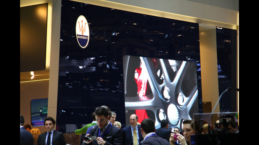 Maserati al Salone di Ginevra 2011