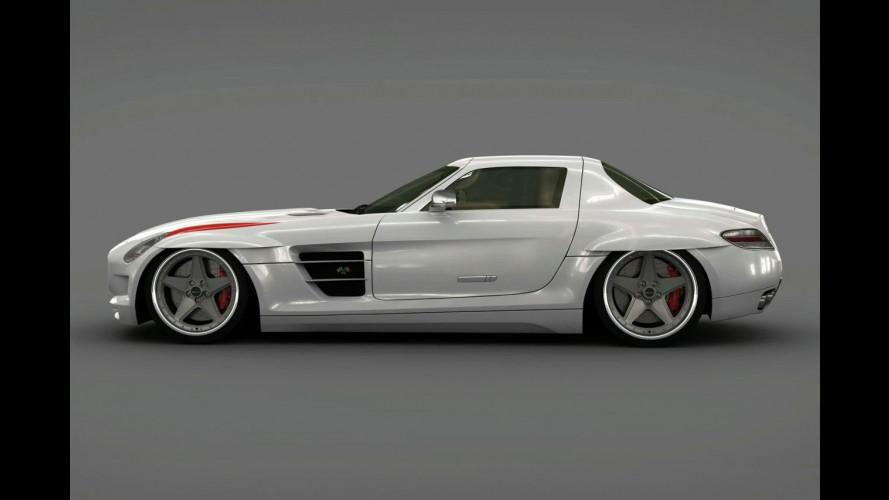 Kit Panamericana per la Mercedes SLS